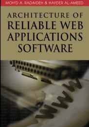 Architecture of Reliable Web Applications Software(2006)(364).pdf