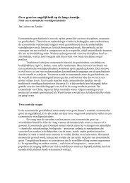 Speech bij ontvangen van Spinozaprijs - International Institute of ...