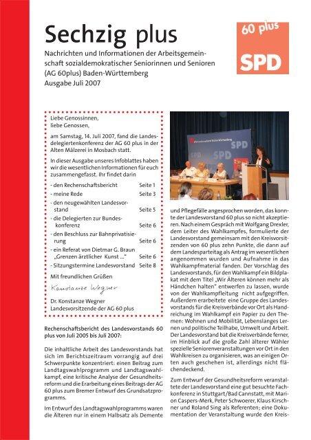 Ausgabe Juli 2007 - Hilfe und Info