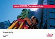 Leica TPS1100 Professional Series