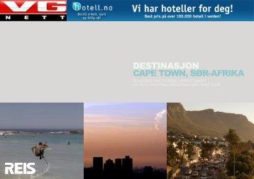 DESTINASJON CAPE TOWN, SØR-AFRIKA - VG