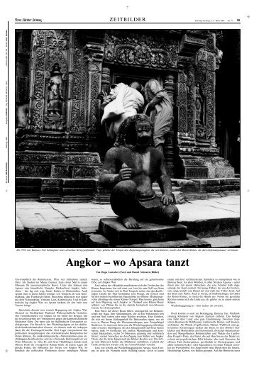 Angkor – wo Apsara tanzt