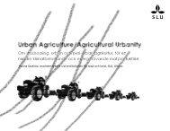 Om stadsodling, urban och peri-urban agrikultur, för en mindre ...