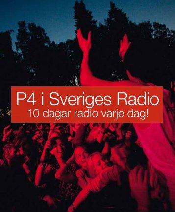 P4 Blekinge (pdf) - Sveriges Radio
