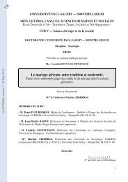 Le mariage africain, entre tradition et modernité: étude socio ...