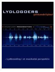 Lydlogoers genkendelighed - Aalborg Universitet