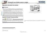 Overspuiten van chassis, assen en velgen Algemene informatie ...
