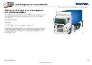 Vrachtwagens voor wissellaadbak Algemene informatie voor ...
