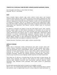 türkiye'de ve dünyada tıbbi bilişim: dünden bugüne bugünden yarına
