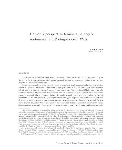 Da voz à perspectiva feminina na ficção sentimental em português
