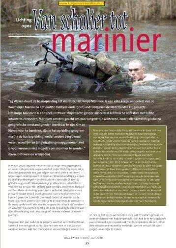 Van scholier tot marinier - EveryOneWeb