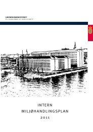 Intern miljøhandlingsplan - Udenrigsministeriet