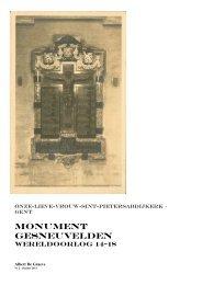 Monument GESNEUVELDEN