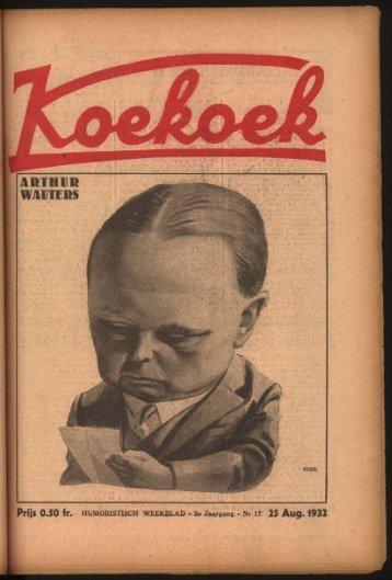 2e Jaargang - Nr i7 25 Aug. 1932