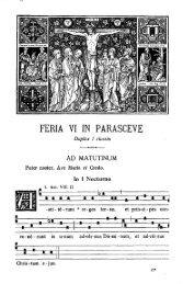 FERIA VI IN PARASCEVE