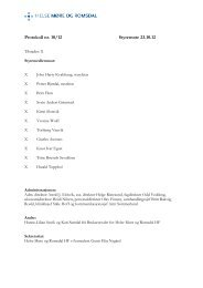 Protokoll styremøte - Ekstranett - Helse Midt-Norge