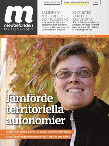 Hela den tryckta tidningen som en pdf-fil (ca 2200 KB) - Åbo Akademi