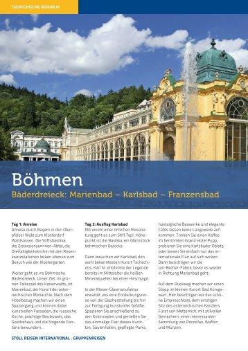 Böhmen - Stoll Reisen
