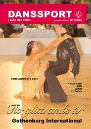 Danssport nr 2 - 2004 - IdrottOnline Förbund - en del av svensk idrott
