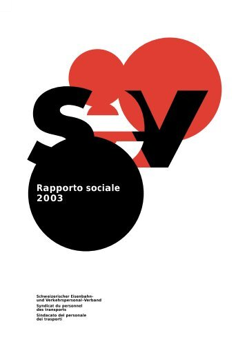 Rapporto sociale - SEV