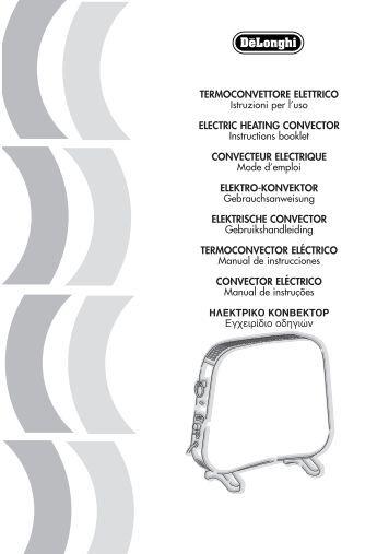 TERMOCONVETTORE ELETTRICO Istruzioni per l'uso ELECTRIC ...