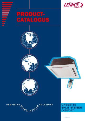 PRODUCT- CATALOGUS - Lennox