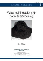 LTU - EX - - 09/132 - - SE - Luleå tekniska universitet