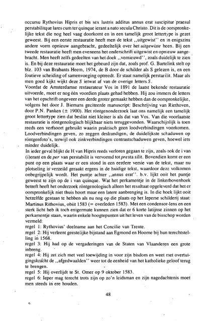 1975 BRABANTS HEEM JAARGANG 27 (XXVII) - Hops