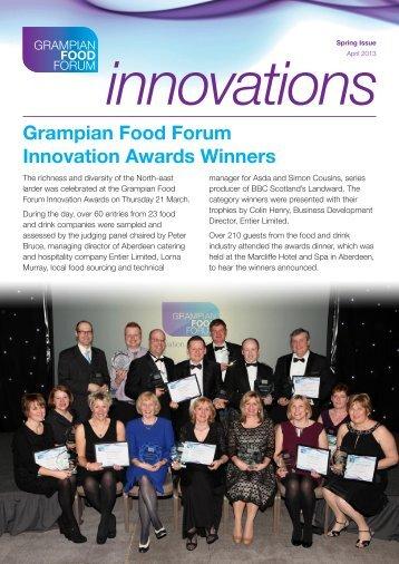 Grampian Food Forum Innovation Awards Winners - Aberdeenshire ...