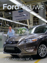 Job 1 Mondeo MCA - Ford Online
