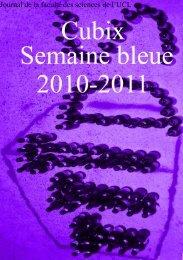 Semaine bleue 2011 - Université catholique de Louvain