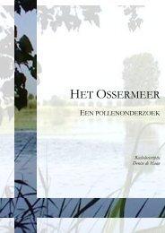 HET OSSERMEER - O - Universiteit Leiden