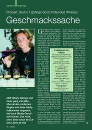 Geschmackssache - Der Whisky-Botschafter