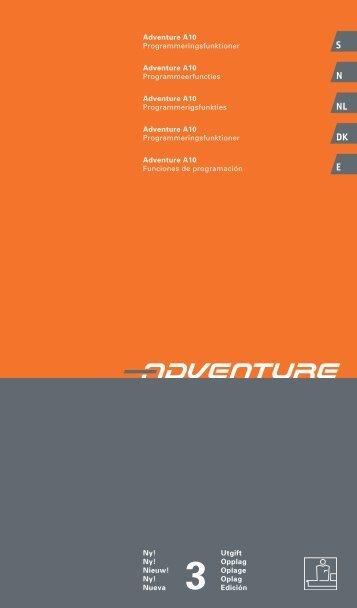 Informatie voor therapeuten en leveranciers Adventure.pdf - Invacare