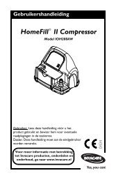 HF2 South Owners Manual 1145805B_Nederlands.pdf - Invacare