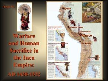 Warfare and Human Sacrifice in the Inca Empire: - Smu