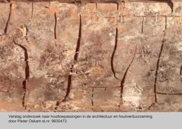 Hout in Gevels - TU Delft