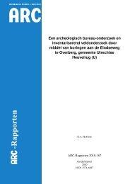 Bijlage 8 ARC BV, Een archeologisch bureau-onderzoek en ...