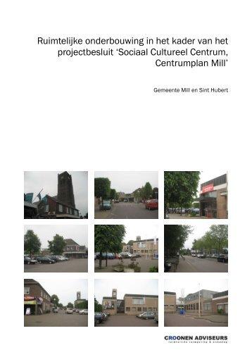 Sociaal Cultureel Centrum, Centrumplan Mill