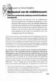 Interviewomtrentdeaankoopvan hetGruuthuse- handschrift ... - Groniek