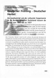 Deutscher Frülîling - Deutscher Herbst - Groniek