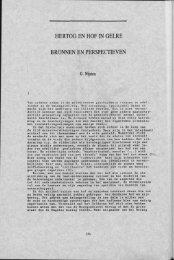 hertog en hof in gelre bronnen en perspectieven - Groniek