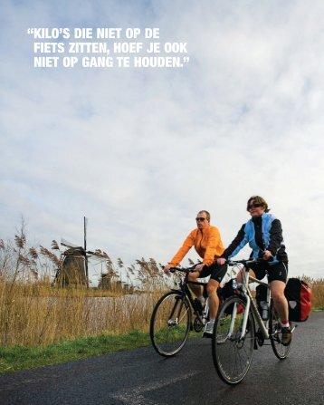 kilo's die niet op de fiets zitten, hoef je ook niet op gang te ... - SiteSpirit