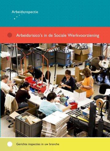Arbeidsrisico's in de Sociale Werkvoorziening - Pagina niet gevonden