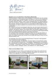 Foto's naar aanleiding van het transport van 15 februari 2007