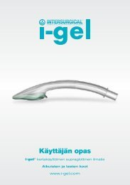 Käyttäjän opas - i-gel - Intersurgical