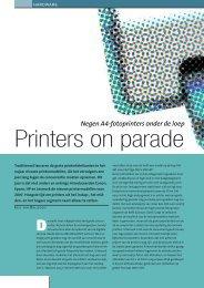 Printers on parade - Kennisnet