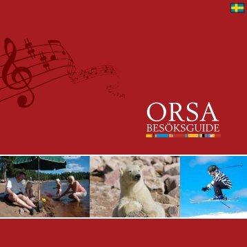 BESÖKSGUIDE - Destination Orsa