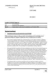 (OR. en) CONV 399/02 WG VIII 15 SAMENVATTEND ... - Europa
