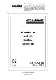 Wasserkocher Jug kettle Bouilloire Waterkoker - Schwab